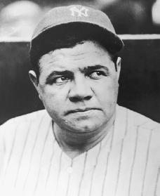 a biography of george herman ruth as an american hero in baseball American hercules: babe ruth george herman ruth jr movie sports-hero nicknames greatest male sports personalities of all time.